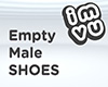 Empty Male Shoes