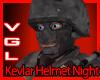 Kevlar Helmet Night Camo