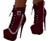 Red Chain Boots