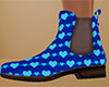 Heart Chelsea Boots 6 F
