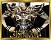 Black gold armor top