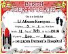 LJ Birth Certificate