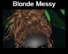 Blonde Messy
