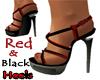~B~ Red/Black Heels