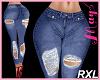'Bimbo Jeans Ripped RXL