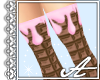 Chocolate Socks~Pink