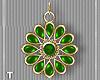 Irish Green Earrings