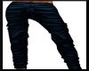 xRx Blue Leather Pants