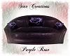 -S- Purple Sofa