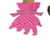 pink burlesque gloves