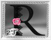 ~2T~ R  Black Pink Rose
