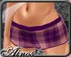 {A}Violet Plaid Short I
