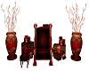 Poaeless Santas Throne