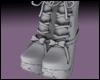+Ankel Boots/w Bow+ Mesh