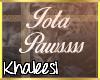 K: Iota Paws