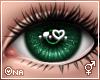 ! Green Sparkly Eyes F/M
