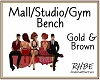 Mall/Studio/GymBench
