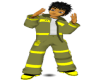 [B] Fire fighter Pants