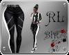 [BIR]Biker Pants*b-w*