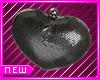 E| Blk Heart Clutch