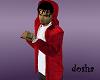 red coogi hoody