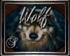 (SL) Wolf Round Rug