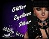 Glitter Eyelines White
