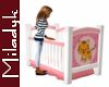 MLK Pink Crib