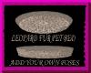 [FCS] Leopard Fur PetBed