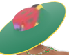 DOMINICA EXOTIC FLAG HAT