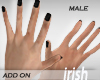 - Hands - Black Nail M