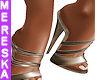 Anais Blk Gld Fairy Shoe