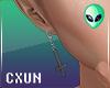 Cross Earrings v2 M L+R