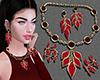Maroon Jewellery Set