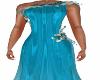 Vannie Teal Gown