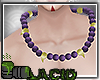 Kitsune Beads Purple