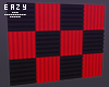 µ Red acoustic panels