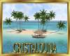 Pacific desert island