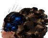 Head Flowers (Blk N Blu)