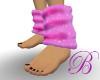 [B]pink slouch socks