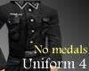 Uniform 4 - no medals