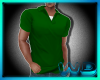 (W) Basic Polo Green