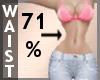 Waist Scaler 71% F A