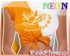 Neon O/W Logo Elena Tee