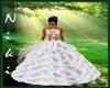 NK  silk wedding dress