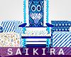 SK|Owl BabyShower Throne