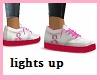 Kids Pink Awareness shoe