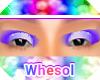rainbow purple eyeshadow
