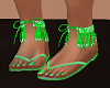 FG~ Candy Green Sandals