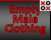 Empty Clothing Male
